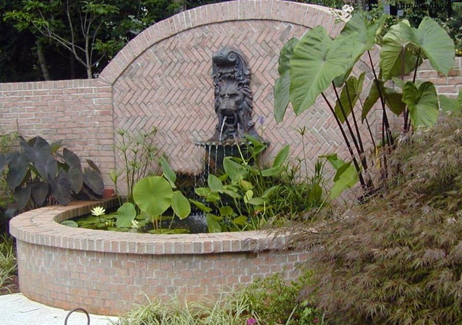 Настенный фонтан своими руками фото