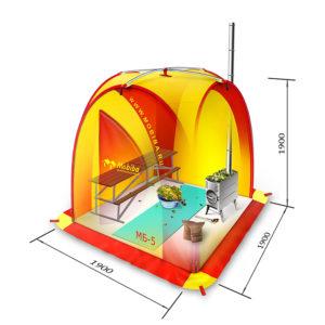 Размеры бани палатки фото